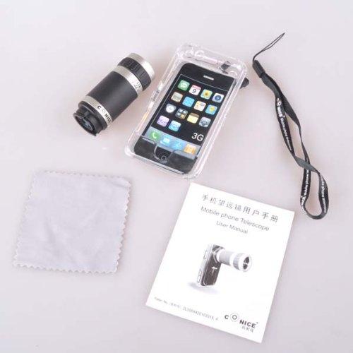 Neewer 6x Optical Zoom Lens Camera Telescope for iPhone 4 4G