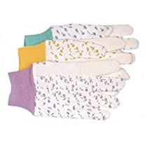 Ladies Dot Jersey Gloves Model 745 Pack of 12