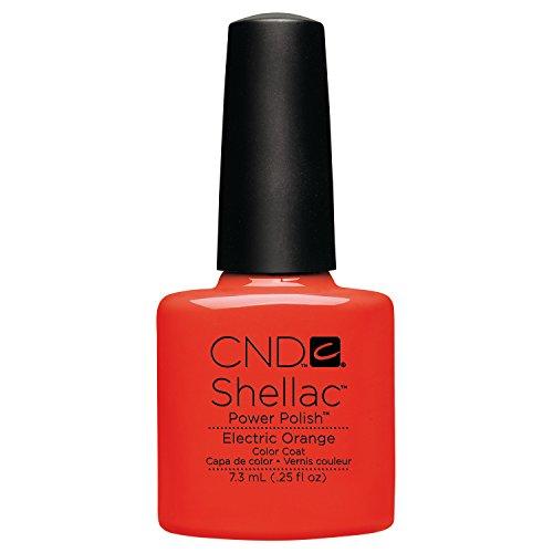 CND Shellac CNDS0037 Electric Orange Smalto per Unghie