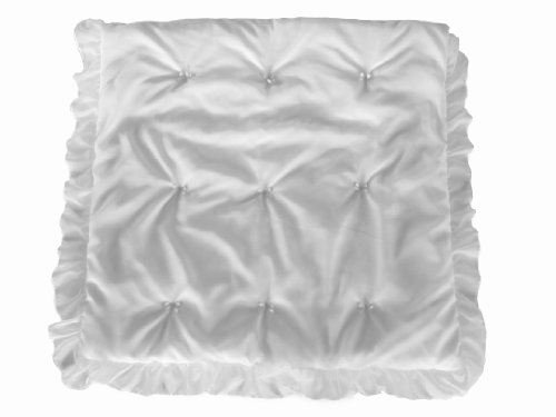 Baby Doll Layered Crib Comforter, White