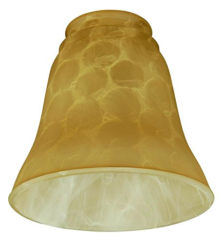 Craftmade 106 Bell Shaped Fan Glass Shade with 2 1/4