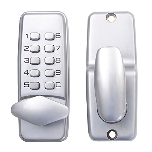 Safstar Keyless Mechanical Keypad Code Digital Locker Home Entry Security Safety Door Lock (Digital Locker compare prices)