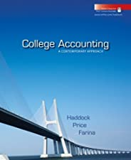 College Accounting by M. David Haddock