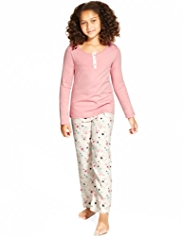 Pure Cotton Star Print Pyjamas