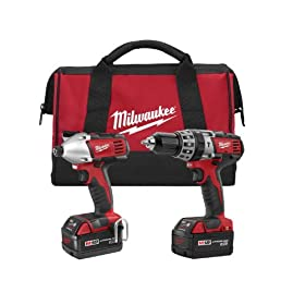 Milwaukee 2697-22 M18 18-Volt 1/2-Inch 2-Tool Combo Kit