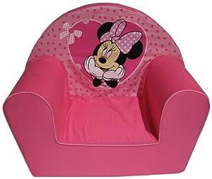 Disney 6720045 - Sillón con diseño de Minnie Mouse y corazoncitos