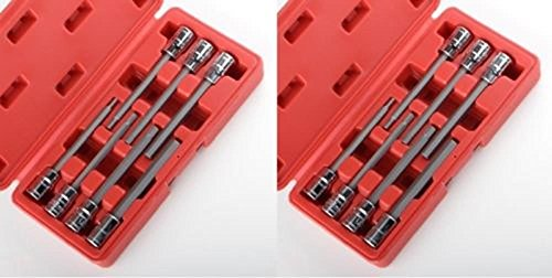 socket-wrenches-3-8-metric-and-sae-extra-long-hex-allen-bit-socket-set-14pc-w-case-new