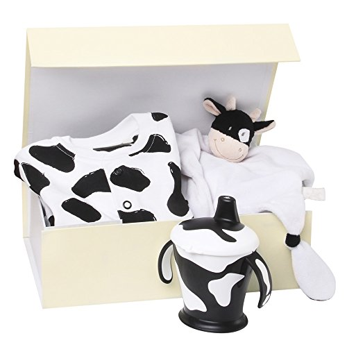 Cow Print Baby Bedding front-1043820