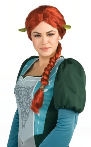 Shrek Costume Accessory, Princess Fiona Wig And Ears front-520790