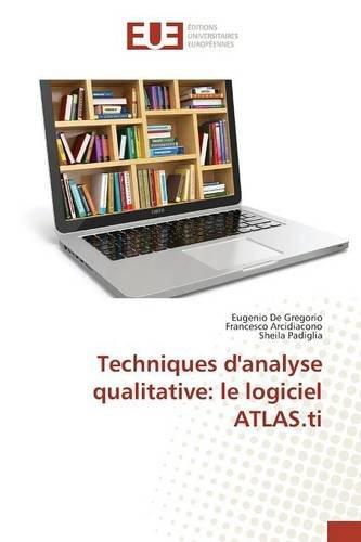 Techniques d'analyse qualitative: le logiciel ATLAS.ti