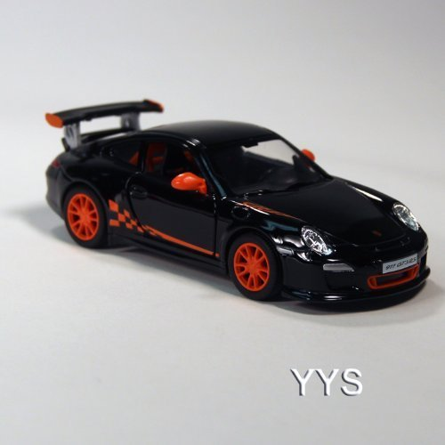 Porsche 911 GT3 RS Die Cast 1:36 Scale - Black