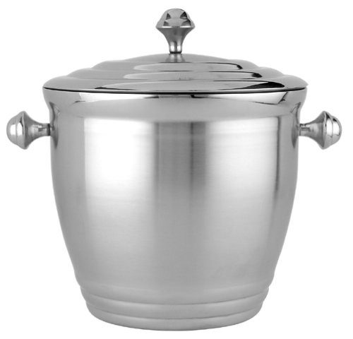 Lenox Tuscany Classics Stainless Steel Ice Bucket front-966844