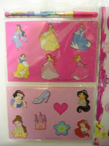 Disney Princess 2 pc. Stencil Set with Pop Crayons - 1