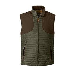 Eddie Bauer Men\'s MicroTherm StormDown Field Vest, Moss M