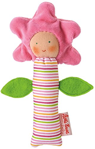 Kathe Kruse In The Garden Flower Squeaky Toy