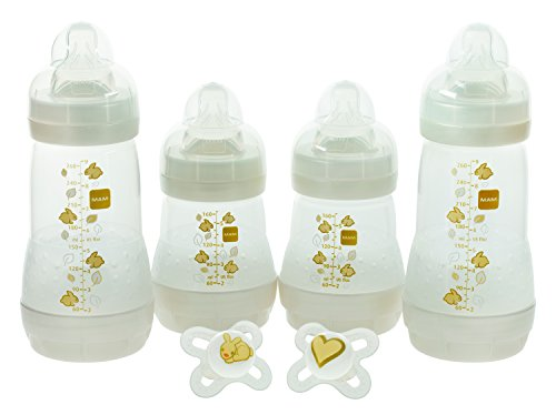 MAM Baby Feeding Gift Set, White