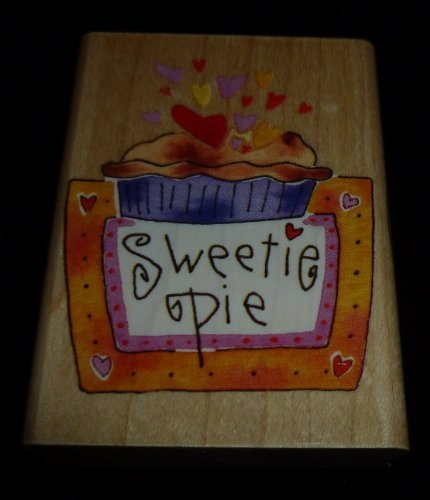 Sweetie Pie Rubber Stamp - 1