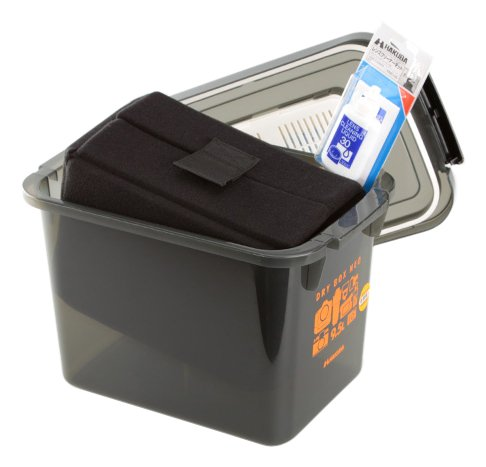【まとめ買いセット】HAKUBA ドライボックス 9.5L スモーク メンテナンス用品 3点SET(インナーソフトボックス、クリーニング液、光学レンズ専用クリーニングペーパー) HTMB9.5-YM