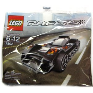Lego 7802 - Lego Racers Le Mans Racer - Bagged