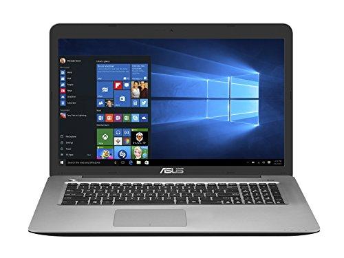 """ASUS R753UX-T4115D - Ordenador portátil de 17.3"""" (Intel Core i7-6700HQ, 8 GB de RAM, HDD de 1000 GB, NVIDIA GeForce GTX950M), metal gris - Teclado QWERTY español"""
