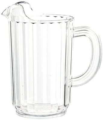 Carlisle 553607 Clear 32-oz. Pitcher (Case of 6)