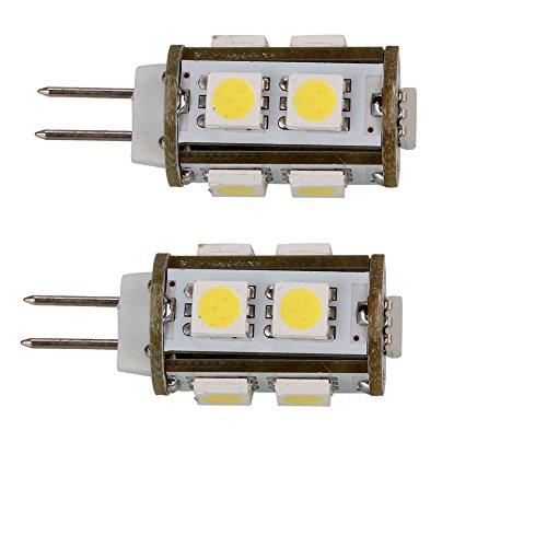 2Pcs Ultra Energy Saving 2W G4 9Led Corn Light Bulb, 150-200Lm