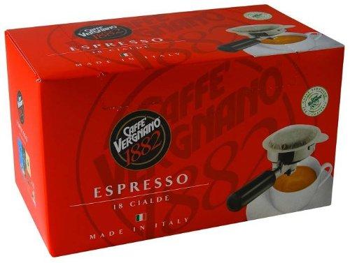 Get Caffe Vergnano Espresso ESE Pods 18 x 7g - Caffe Vergnano