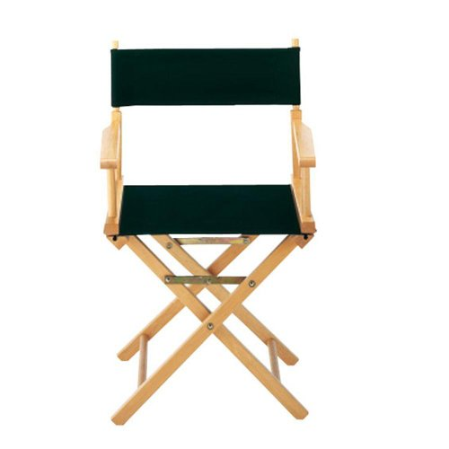 Replacement Canvas Seat And Back For Directors Chair (Canvas Only), Canvas, Black front-610798