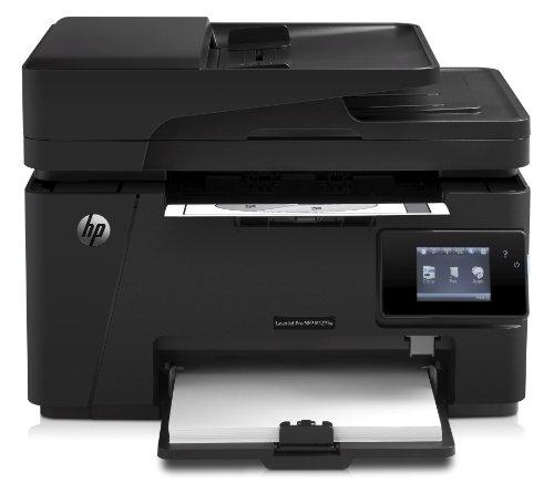 HP LaserJet Pro M127fw Laser-Multifunktionsdrucker (Scanner, Kopierer, Fax, 600 x 600 dpi, WiFi, USB 2.0)