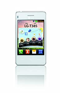 LG T385 Téléphone portable Ecran 3,2 pouces Bluetooth WiFi Blanc