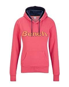 Bench Damen Hoody Ayreport, rouge red, L, BLEA3270