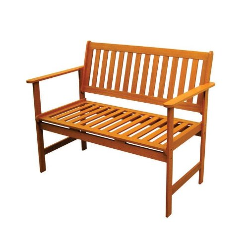Royal Tahiti Outdoor Furniture: Gulf Port Arm Bench