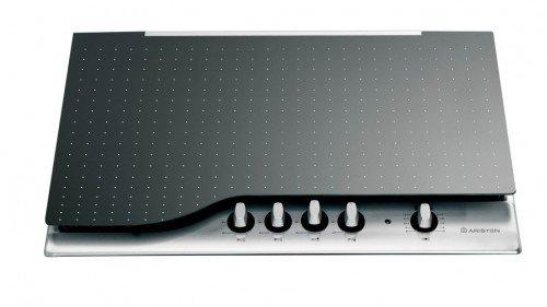 Hotpoint-Ariston Coperchio piano cottura L 75 cm Vetro Col Nero COVPH7BK