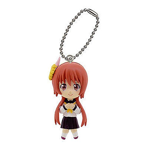 Anime nisekoi Swing mini figure Strap mascot Key Chain MARIKA TACHIBANA JAPAN - 1