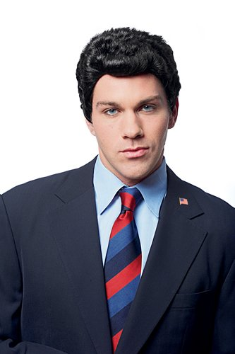 Mens Campaign Manager Halloween Costume Accessory Wig