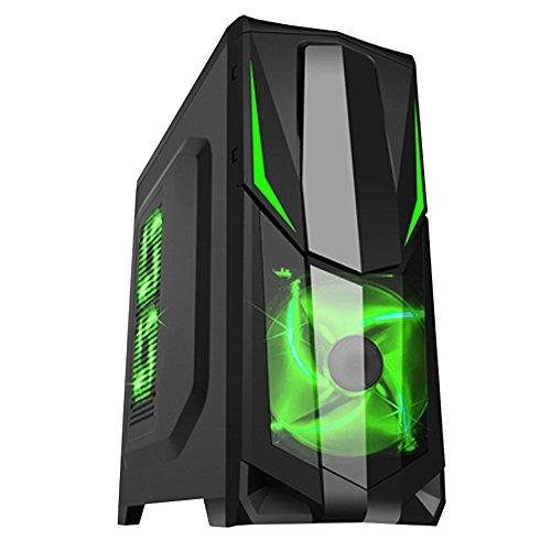 Fierce VULTURIS - 4,4GHz AMD X4 880K Vierkern übertaktete Prozessor, NVIDIA GTX 750 Ti 2GB Grafikkarte, 8GB RAM 1TB Festplatte Gaming PC Desktop Computer - HDMI/USB3 - 228602