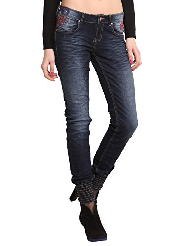 Desigual Damen Slim Jeans DENIM_ESTHER,