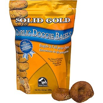 Solid Gold Garlic Doggie Bagels, .9 lbs.