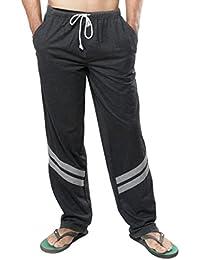 Clifton Mens Track Pants -Charcoal Melange Grey Melange