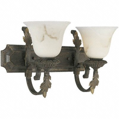 Bath & Vanity Weathered Bronze P3370-46 Medium Base By Progressive Lighting