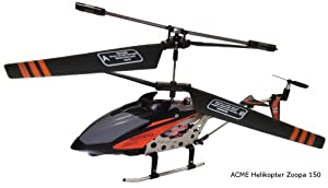 AirAce AA0150 - Helikopter, Zoopa 150 IR Gyro 2.0 und Turbo