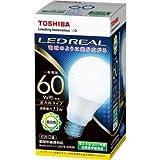 東芝ライテック LED電球 一般電球 全方向 60W相当 昼白色