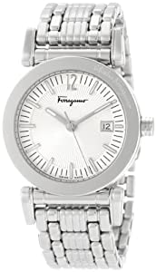Salvatore Ferragamo Men's F50LBQ9902 S099 Salvatore Quartz 3-Hands Stainless-Steel Bracelet Watch by Salvatore Ferragamo