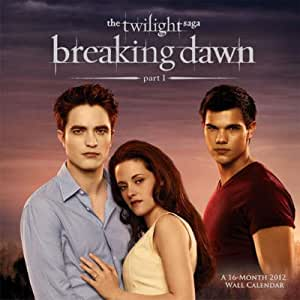 (12x12) The Twilight Saga Breaking Dawn Movie 16-Month 2012 Calendar