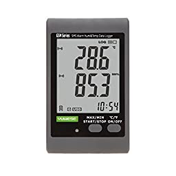 KKmoon GSM LCD Digital Temperature Humidity Data Recording Logger Meter Thermometer Hygrometer SMS Alarm PC Connecting