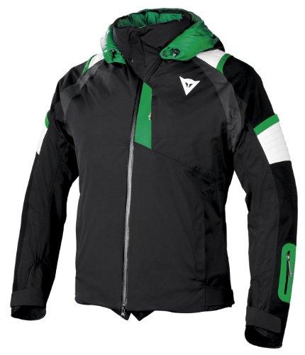 Dainese Herren Textiljacken Delta Pro D-dry, black/green, M, 4749299636