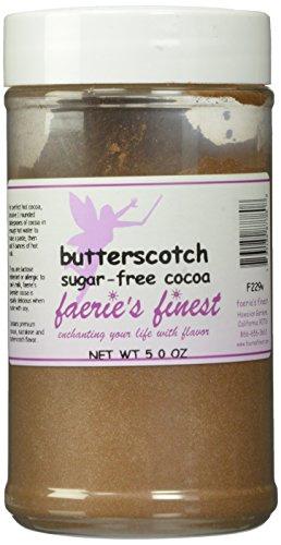 Faeries Finest Sugar-Free Cocoa, Butterscotch, 5 Ounce