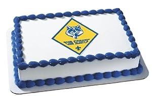 Boy Scout Cub ~ Edible Cake Image Topper