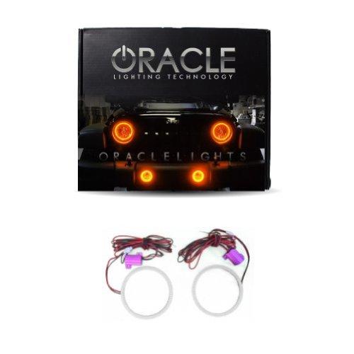 Oracle Lighting Je-Ar0713P-A - Jeep Wrangler Plasma Halo Headlight Kit - Amber