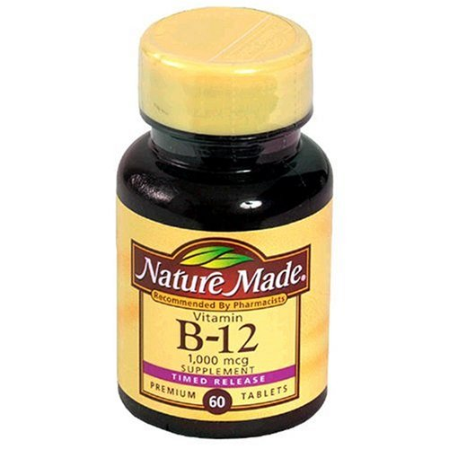Nature Made Time-Release Vitamin B-12 Supplement Tablets ...